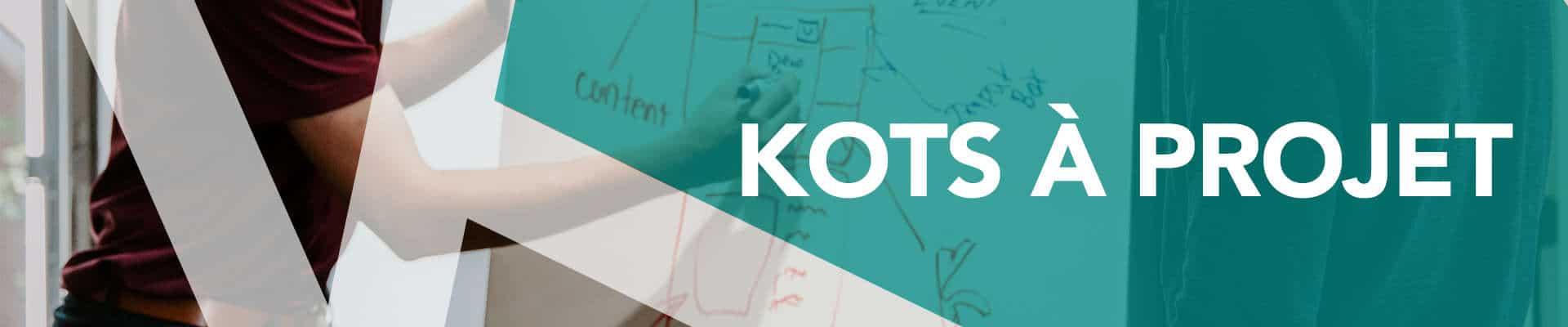 Banniere bottin étudiant kots à projet
