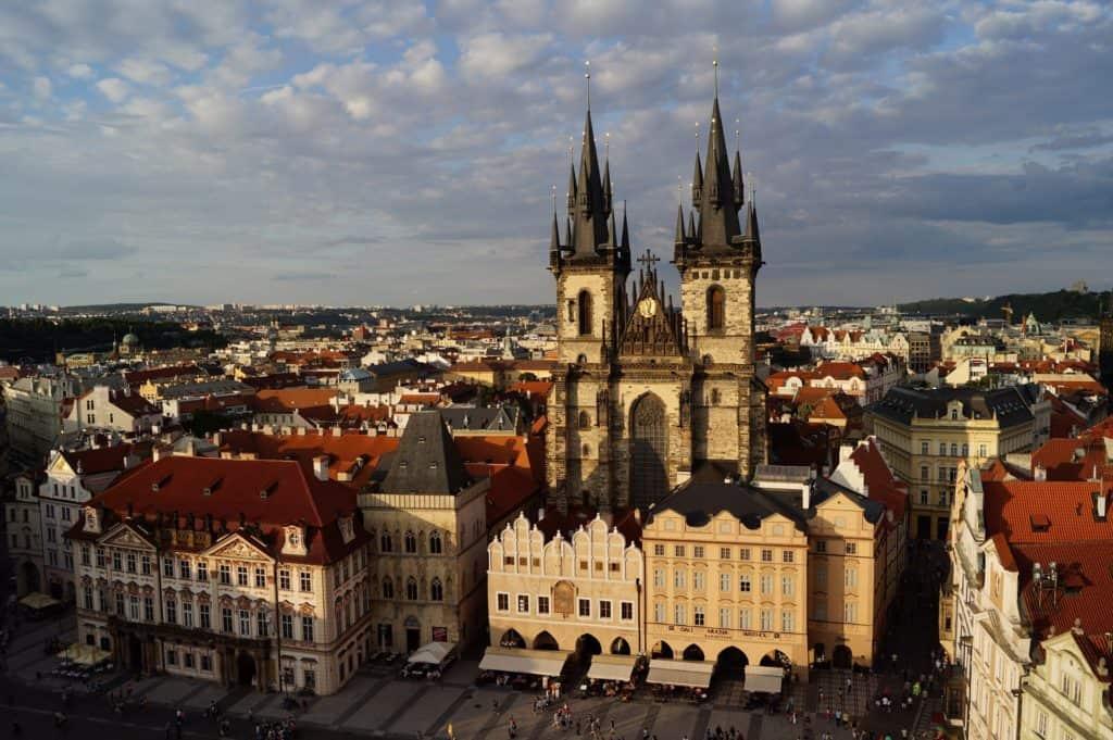 Visite étudiant Prague